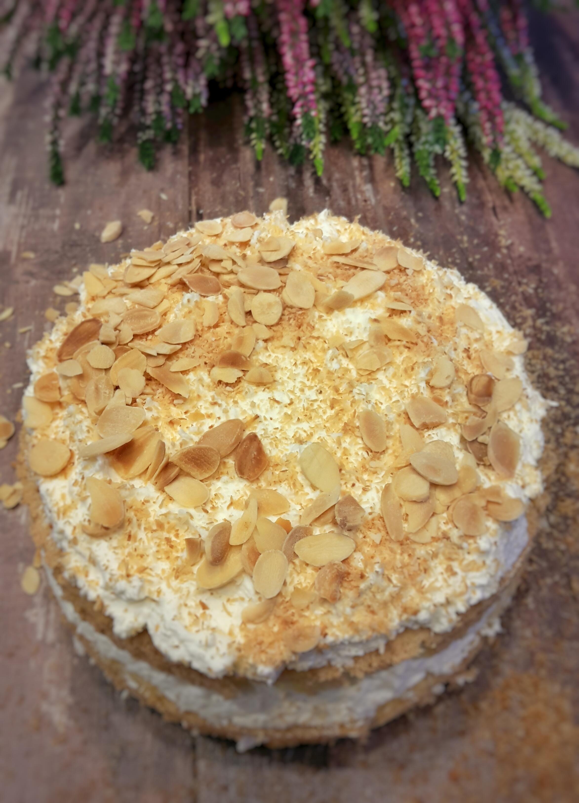 Ekspresowy kokosowy torcik
