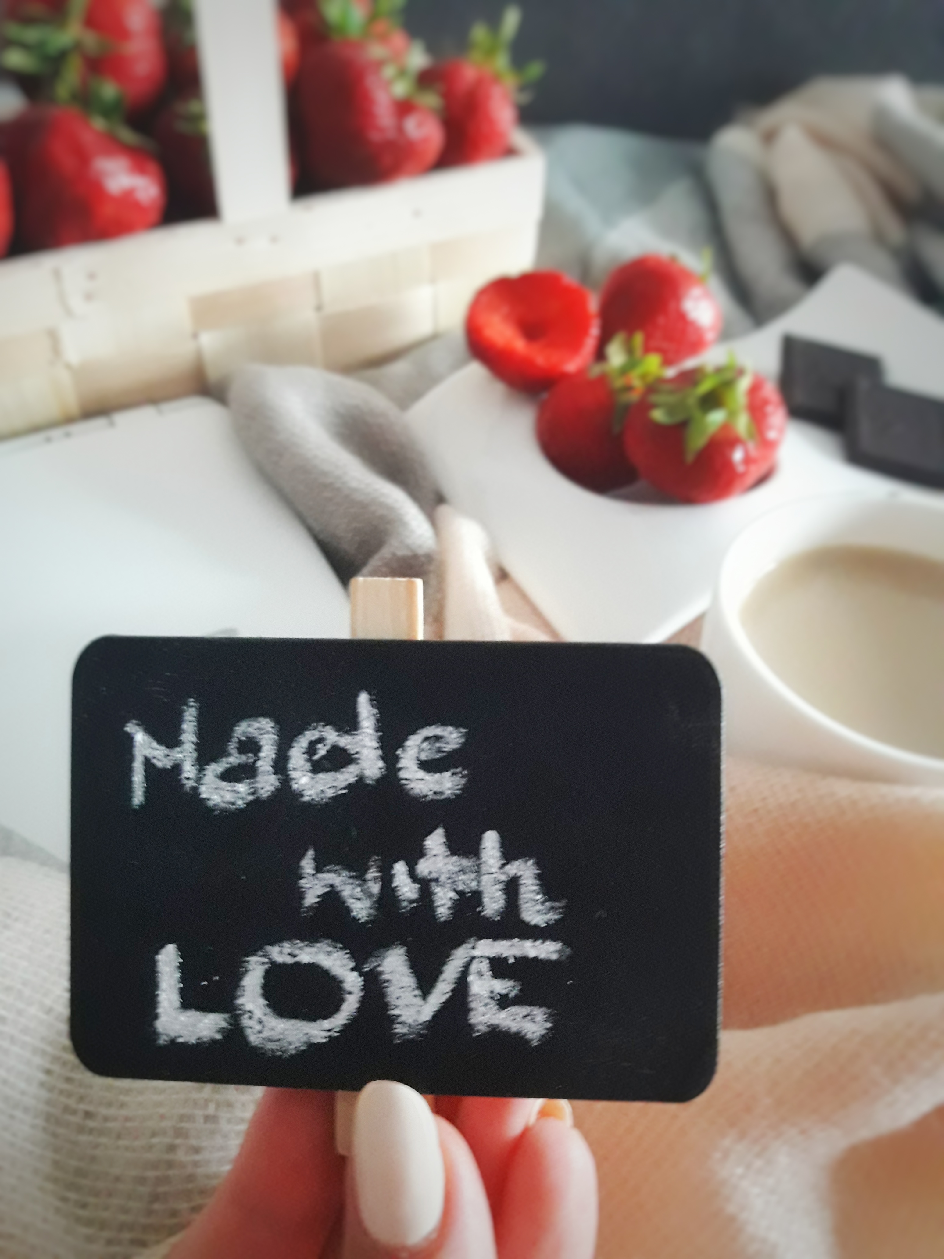 Made with love, made for you