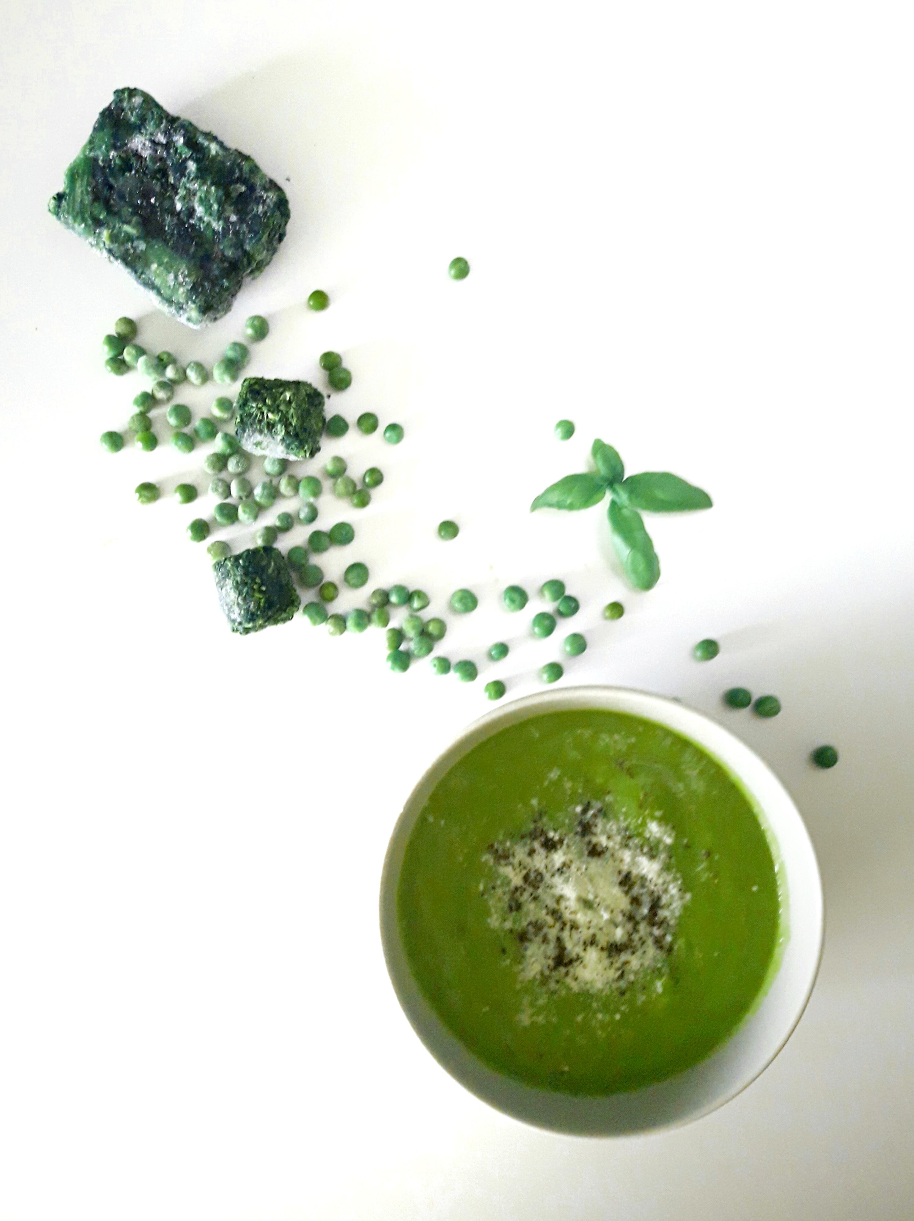 Zupa krem z zielonych resztek – mega prosta i szybka