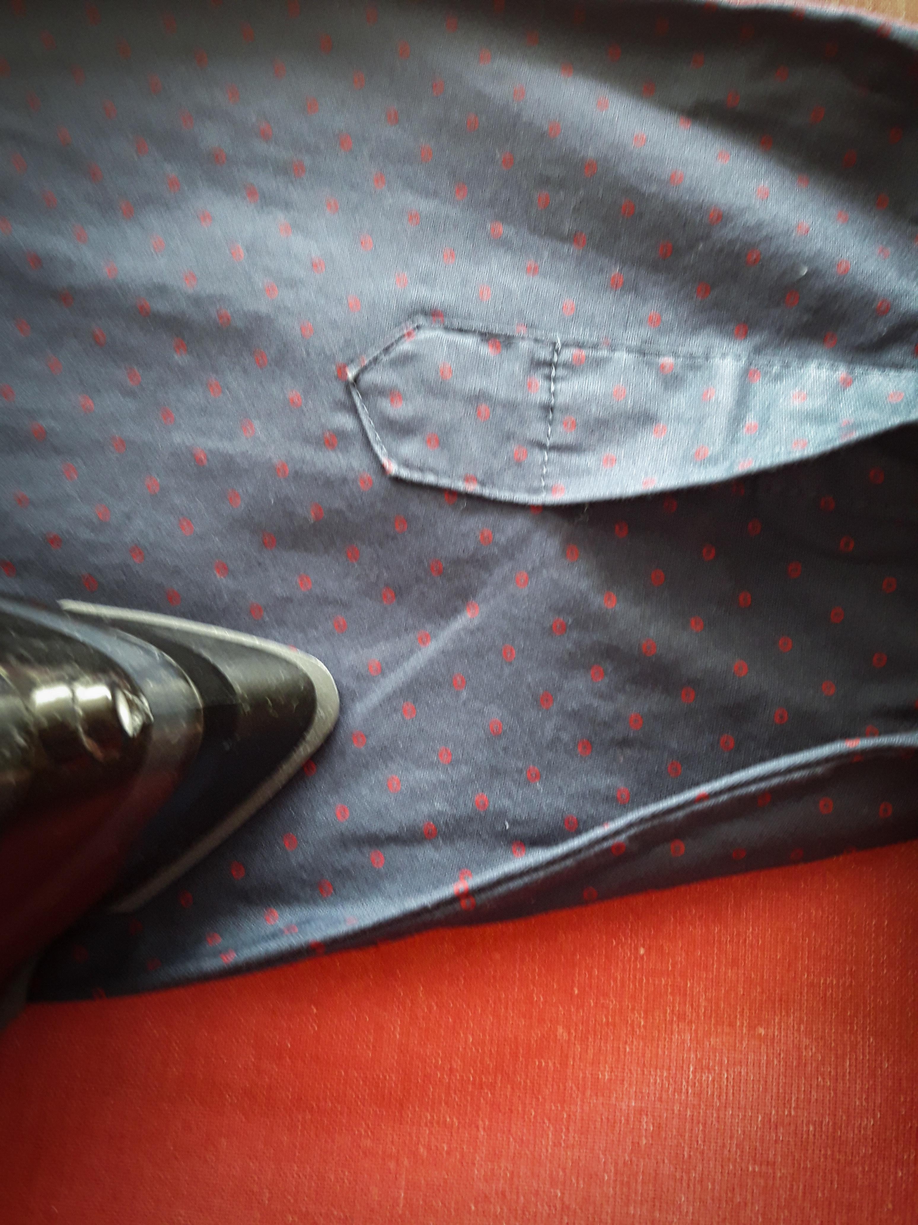 Prasowanie koszuli w 6 krokach