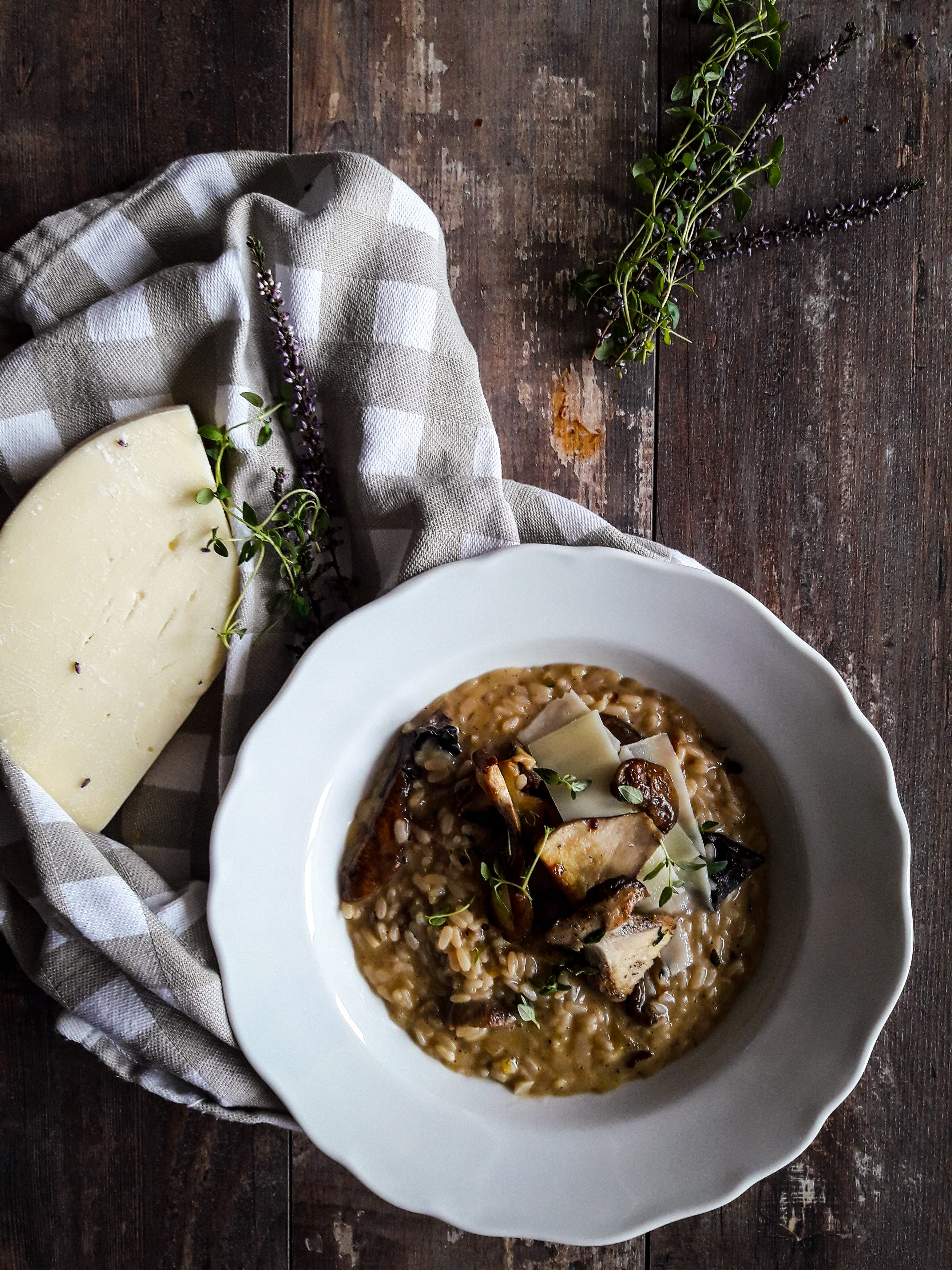 Najprawdziwsze prawdziwkowe risotto z borowikami i tymiankiem